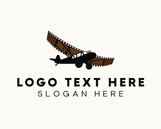 Airplane - Film Airplane logo design