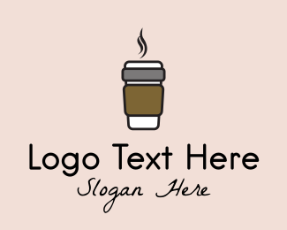 Coffee Cup - Hot Coffee Cup  logo design