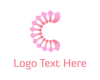 Bloom - Pink Petals logo design