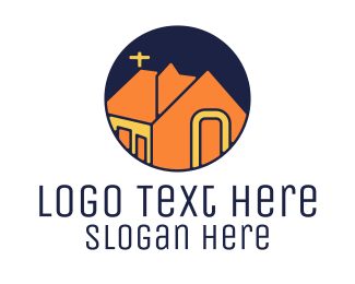 Chapel - Orange Chapel  logo design