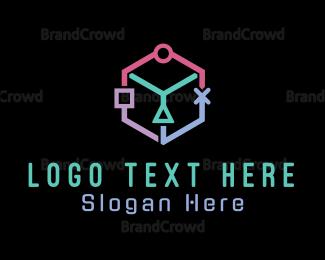 Gaming - Game Cube logo design