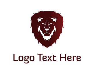Zoo - Red Lion logo design
