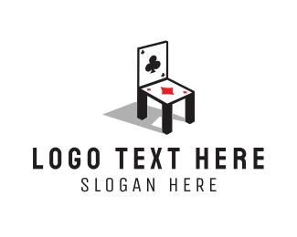 Bet - Card Chair logo design
