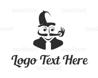 Moustache - Moustache Twirl logo design