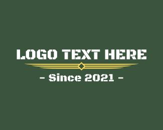 Text - Army Aviation Text logo design