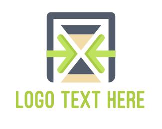 Management - Time Management logo design