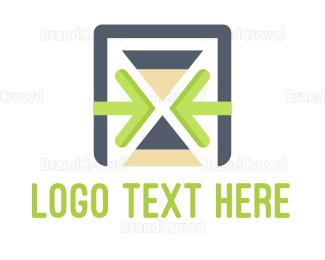 Arrows - Time Management logo design