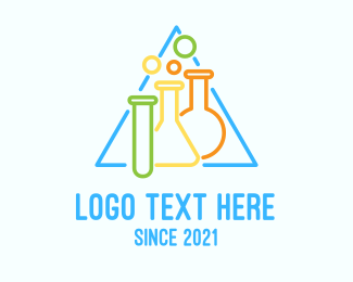 Chemistry - Chemistry Laboratory logo design