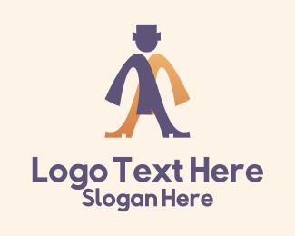Dress - Formal Wear Man logo design