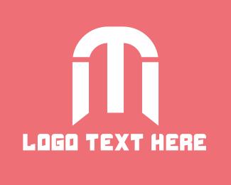 Tm - T & M logo design