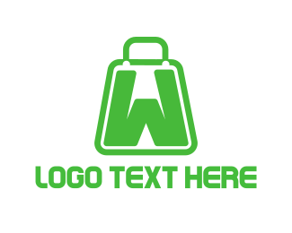 Purchase - Bag Letter W logo design