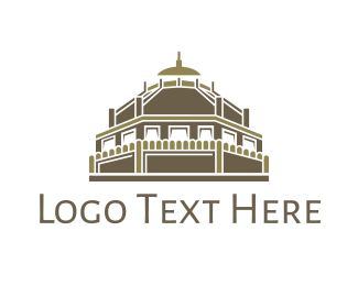 Temple - Ancient Temple  logo design