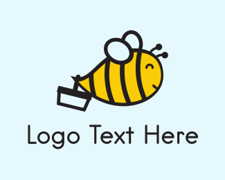 Supermarket - Little Bee logo design
