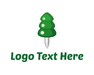Pin-a-Pine Logo
