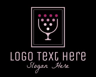 Sommelier - Night Club Wine Bar logo design
