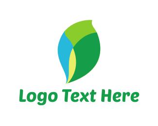 Mosaic - Leaf Mosaic logo design