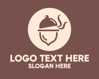 Dish - Acorn Dish logo design