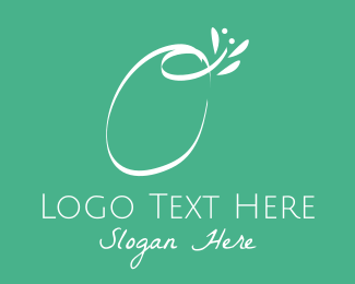 Beauty - Floral Letter O logo design