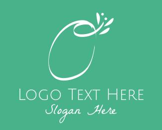 Yogi - Floral Letter O logo design