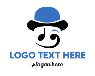 Beat - Happy Musician logo design