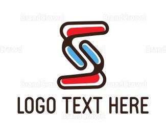 Modern - Abstract Modern S logo design
