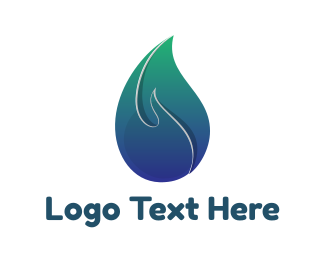 Aromatherapy - Gradient Candle Light logo design