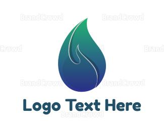 Petroleum - Gradient Candle Light logo design