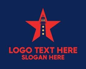 Guard - Star Lighthouse logo design