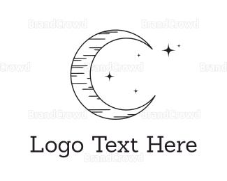 Satellite - Black Moonlight logo design