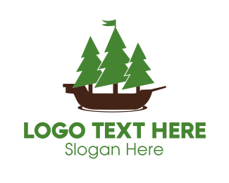 Forest - Nautical Forest logo design