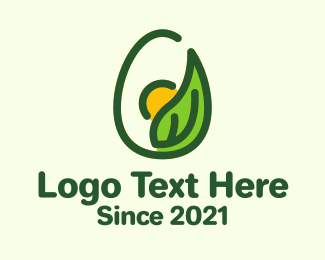 Poultry - Organic Egg Poultry logo design