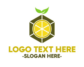Cube - Lemon Cube logo design