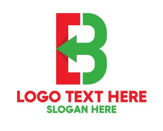 Logistics - Colorful Arrow B  logo design