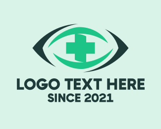 Eye - Optometry Eye Clinic logo design
