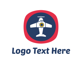 Tour - Aircraft Photography logo design