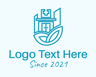 Hospital - Blue Medical Hospital  logo design