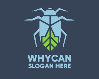 Bug Eco Bug logo design