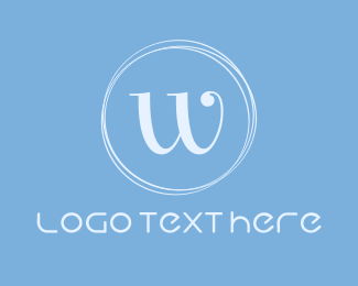 Chic - Blue & Chic logo design