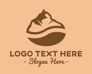 Coffee Shop - Coffee Mountain logo design