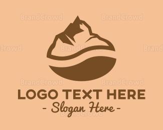 Mountain - Coffee Mountain logo design