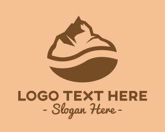 Mount - Coffee Mountain logo design