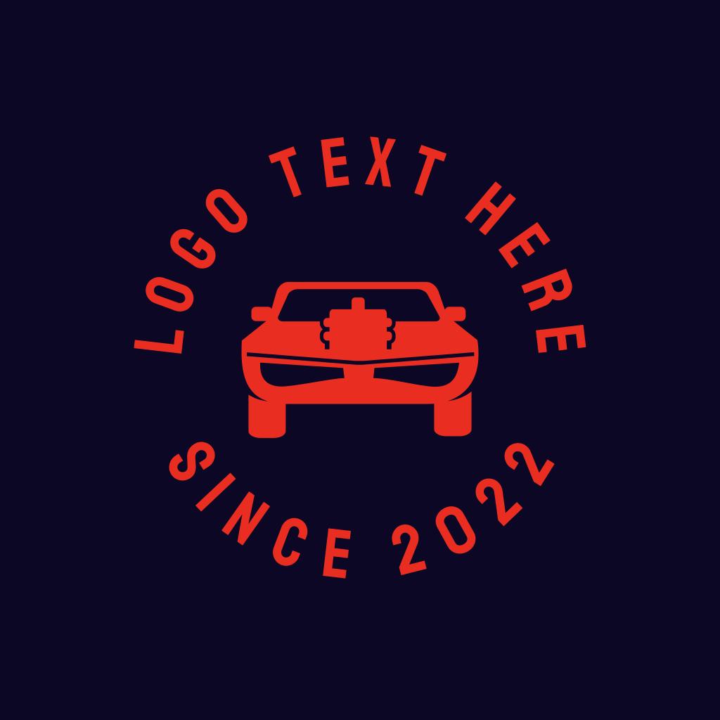 Muscle Car Automotive Engine Logo