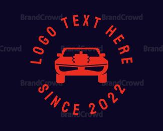 Car Racing - Car Motor logo design