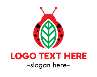 Leaf - Leaf  & Bug logo design