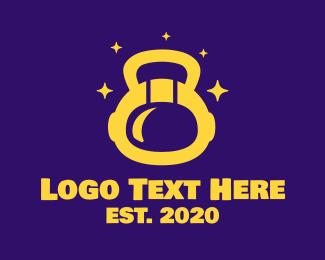 Gym - Astronaut Gym Fitness logo design