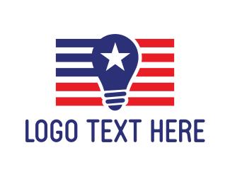 Lightbulb - American Lightbulb logo design