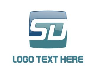 Gear - S & D logo design