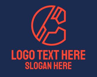 Letter - Engineering Letter C logo design