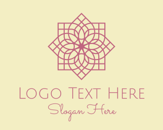 Moroccan - Purple Beauty Spa  logo design