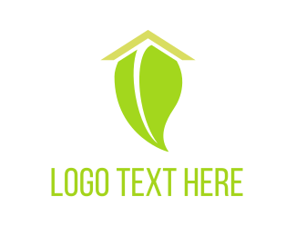 Hostel - Eco Roof logo design